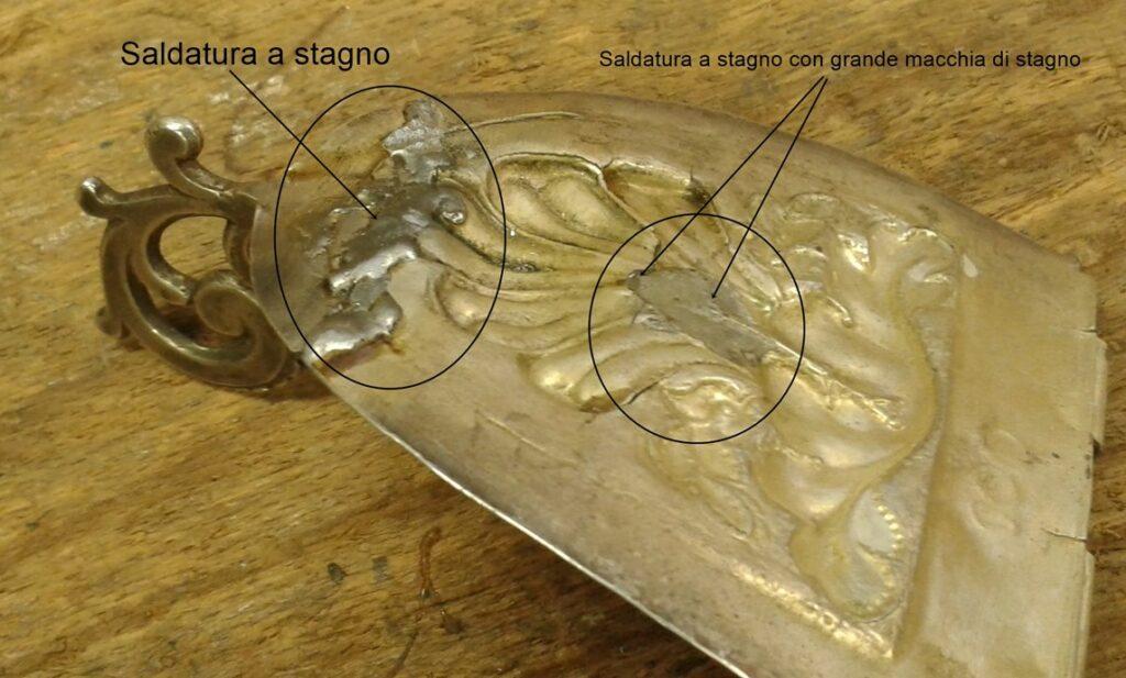 saldatura d'argento in presenza di stagno 6
