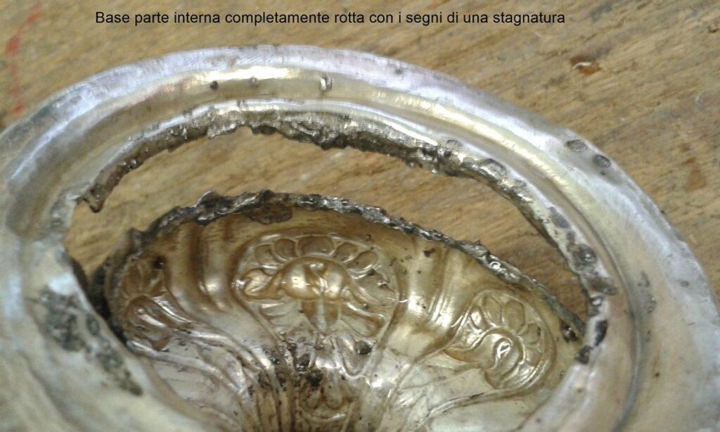 saldatura d'argento in presenza di stagno 9