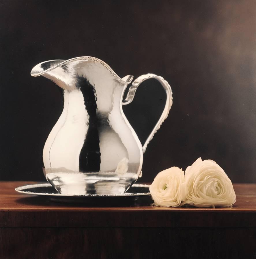 brocca in argento stile san marco fatta a mano