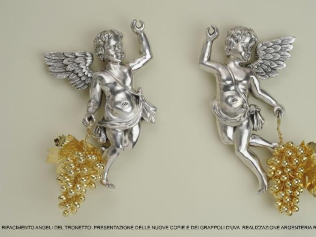 angeli in argento