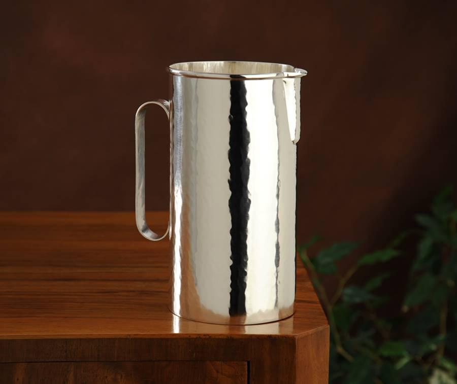 brocca cilindrica stile inglese fatta a mano