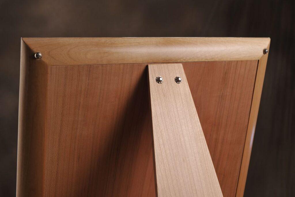 particolare retro legno