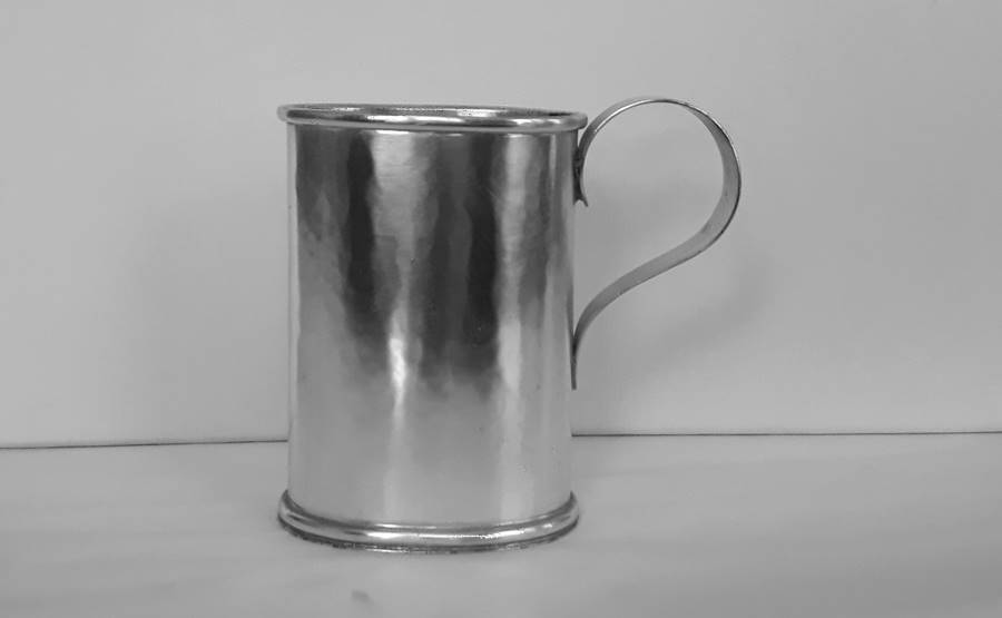oggetti in argento per scrivania porta penne in argento con manico